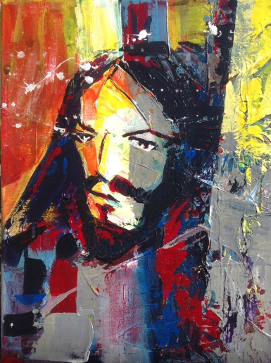 JEANJEAN - JESUS PRECHANT II - art contemporain