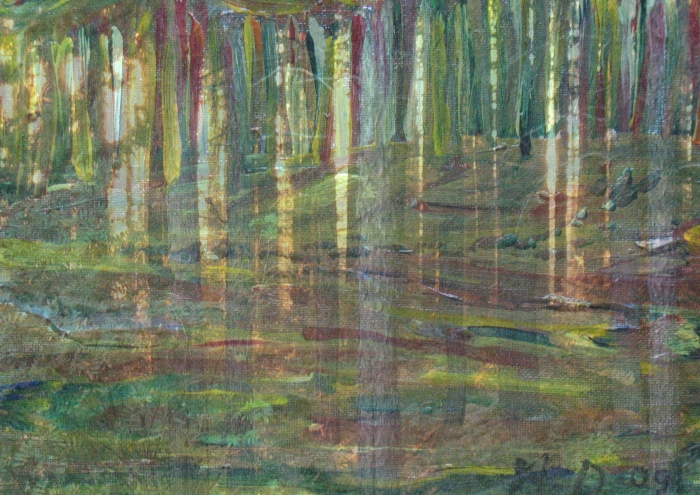 Mario Deschenes - Paysage enchanteur - art contemporain