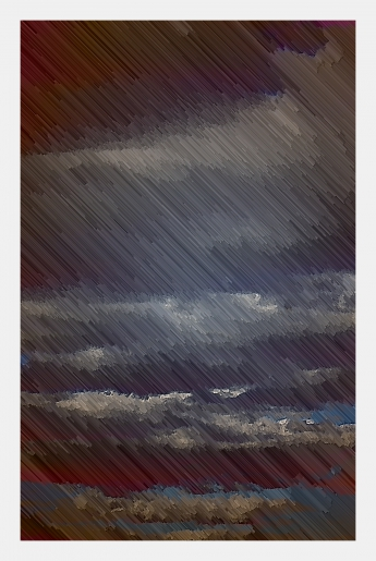 Mario Deschenes - Orage - art contemporain