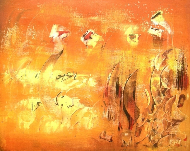 Ahmed <strong>BELACHGAR</strong> - Evasion - art contemporain
