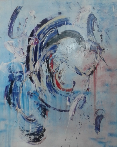 Herco - Abstract Future (N°830) - art contemporain