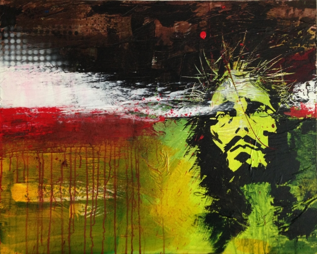 JEANJEAN - JESUS I - art contemporain