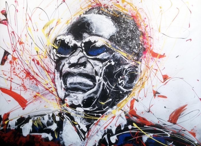 cyril dubreuil - Ray charles - art contemporain