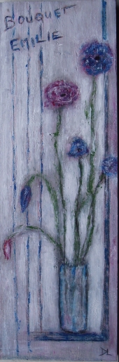 denise <strong>louin</strong> - Bouquet Emilie - art contemporain