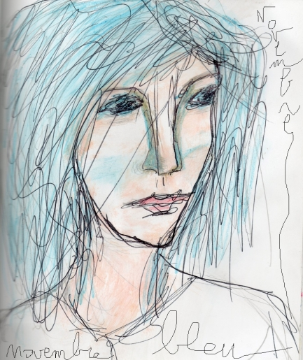 denise <strong>louin</strong> - Novembre bleu - art contemporain