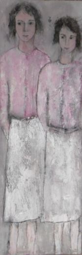 denise <strong>louin</strong> - Gilets roses - art contemporain