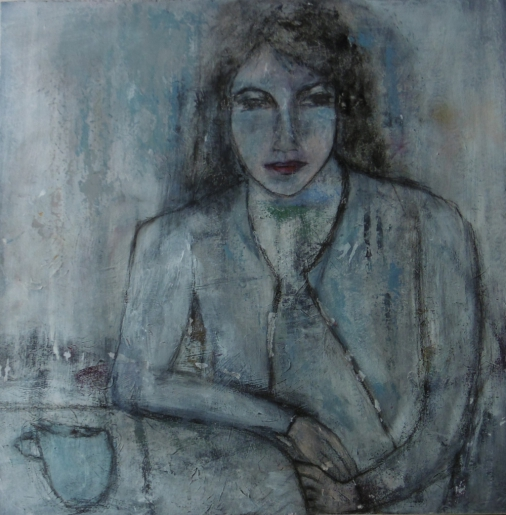 denise <strong>louin</strong> - l'heure bleue - art contemporain