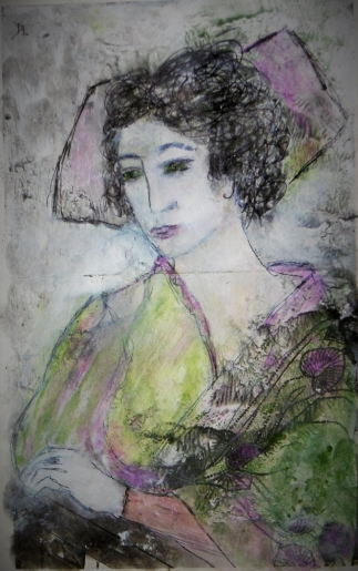 denise <strong>louin</strong> - r&ecirc;verie japonisante - art contemporain