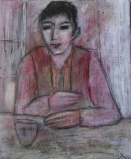 denise <strong>louin</strong> - Pose caf&eacute;. - art contemporain