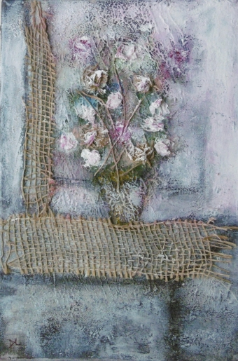 denise <strong>louin</strong> - Bouquet ficelle - art contemporain