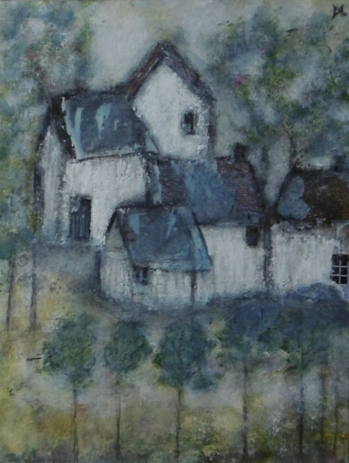 denise <strong>louin</strong> - Petit hameau - art contemporain