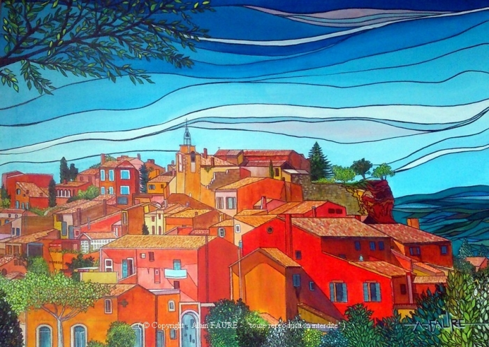 Alain FAURE - ROUSSILLON - art contemporain