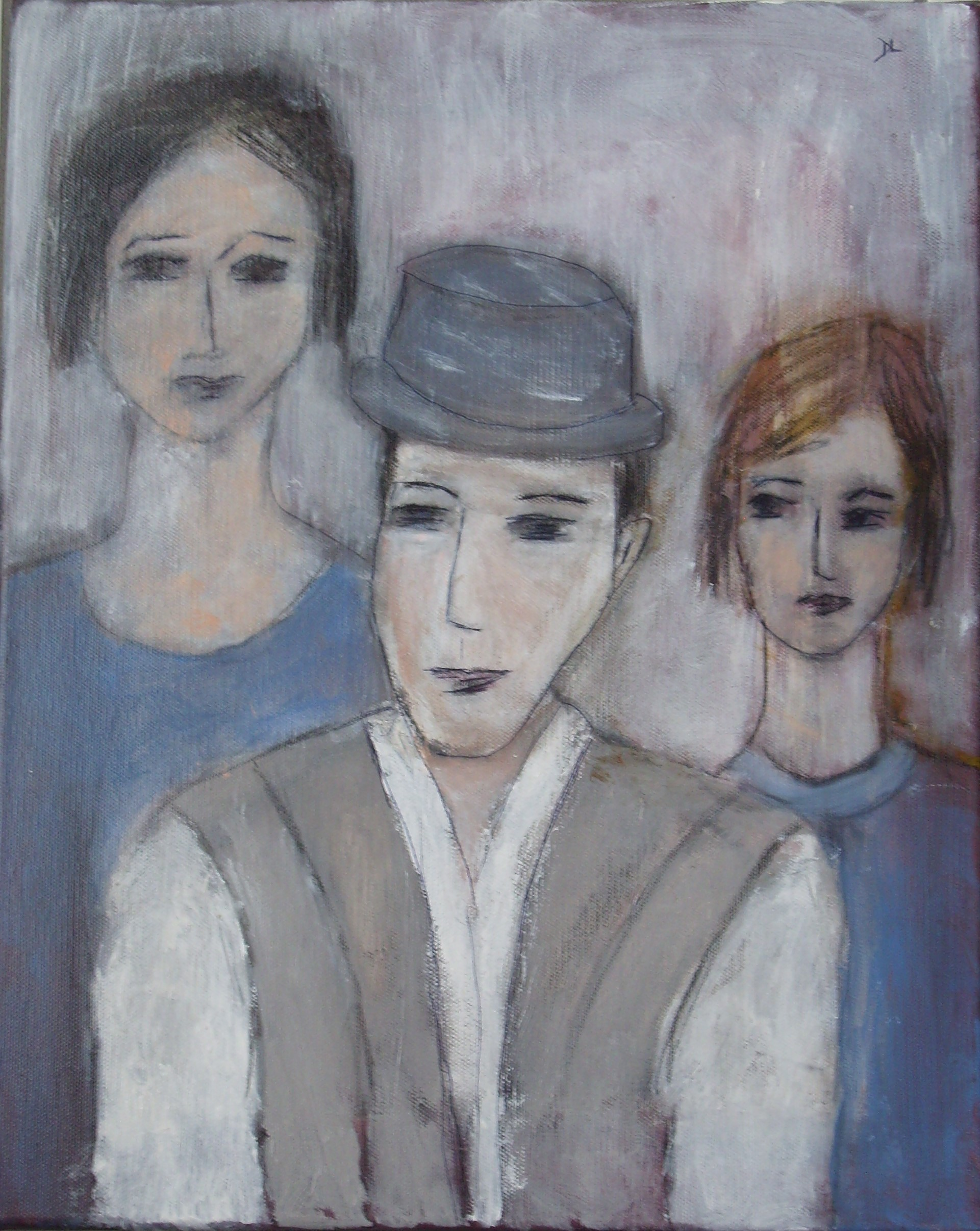 denise <strong>louin</strong> - portrait de famille - art contemporain