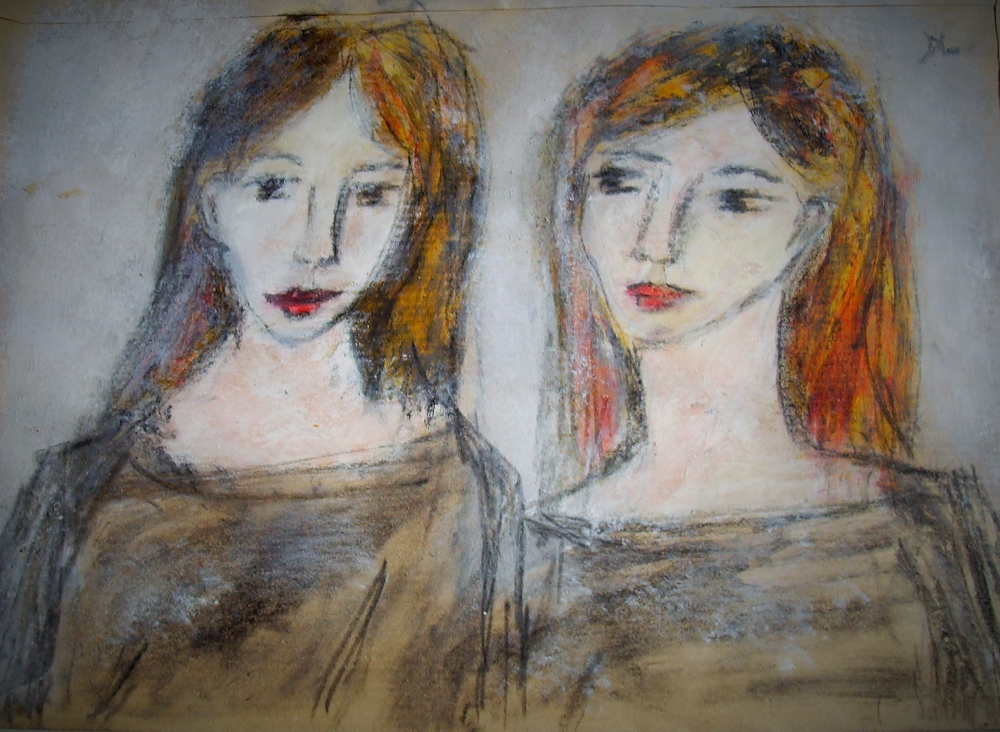 denise <strong>louin</strong> - les filles - art contemporain